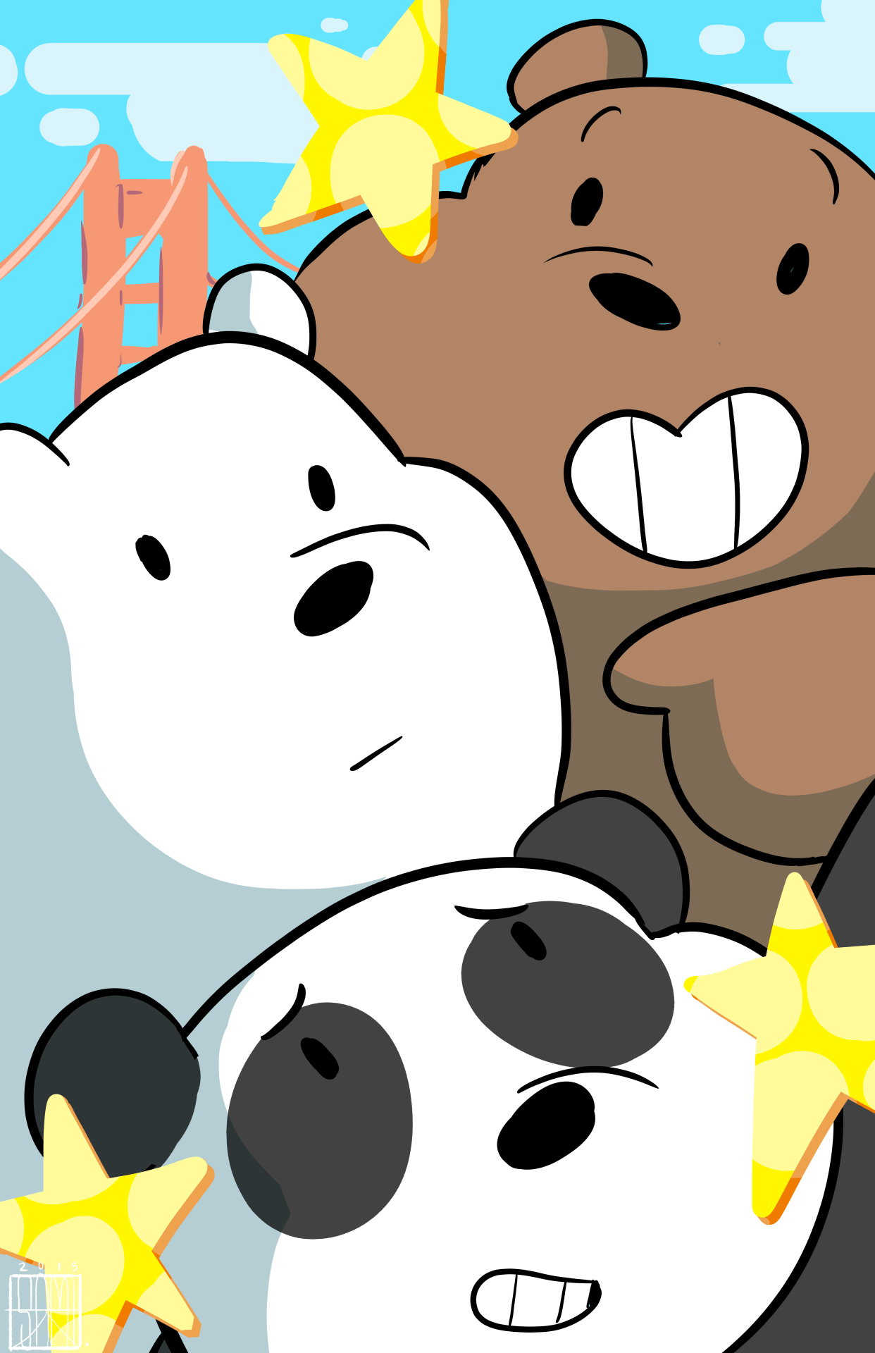 We Bare Bears IPhone Wallpaper, 48 We Bare Bears IPhone Images and ...