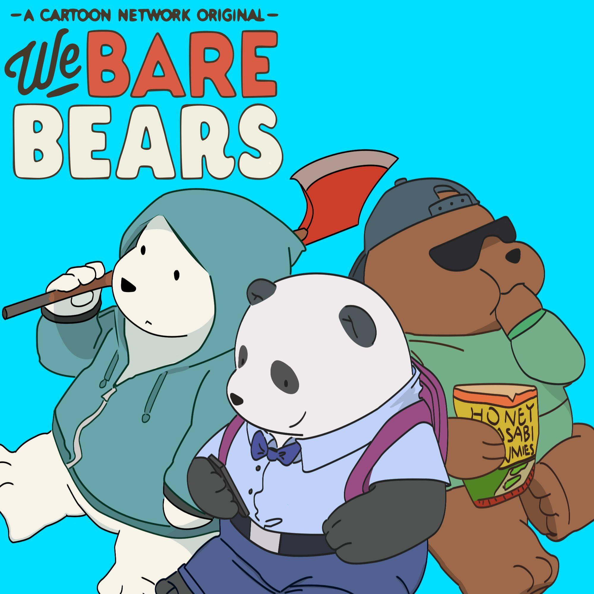 Vector] We Bare Bears by FALExD on DeviantArt