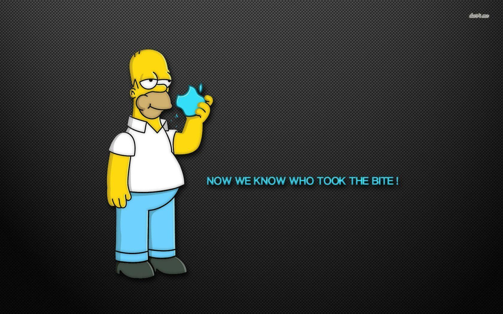 Homer Simpson - The Simpsons wallpaper - Cartoon wallpapers - #