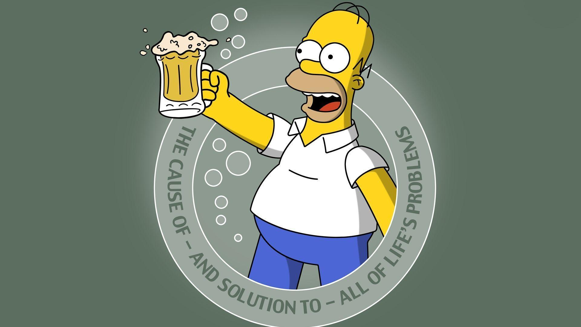 Homer- Got Beer? Computer Wallpapers, Desktop Backgrounds ...