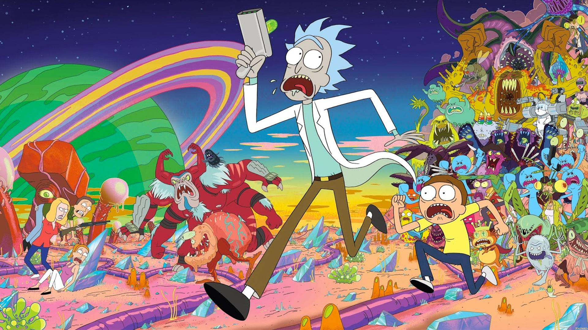 Rick and Morty HD Wallpaper | 1920x1080 | ID:56257