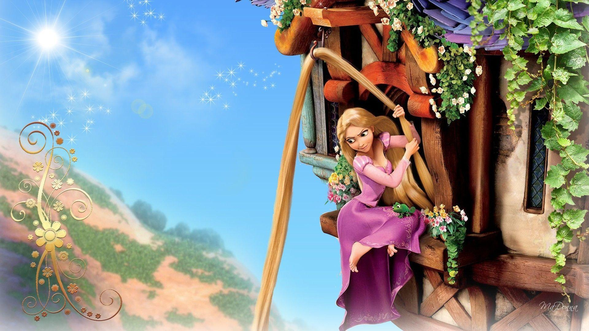 Barbie Rapunzel Wallpaper #8798058