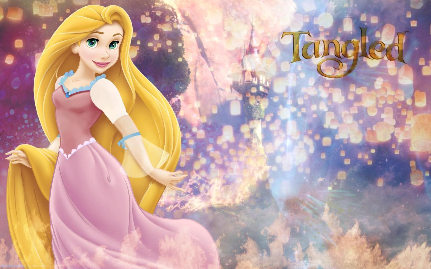 Rapunzel's Tower - Tangled Wallpaper (33104749) - Fanpop