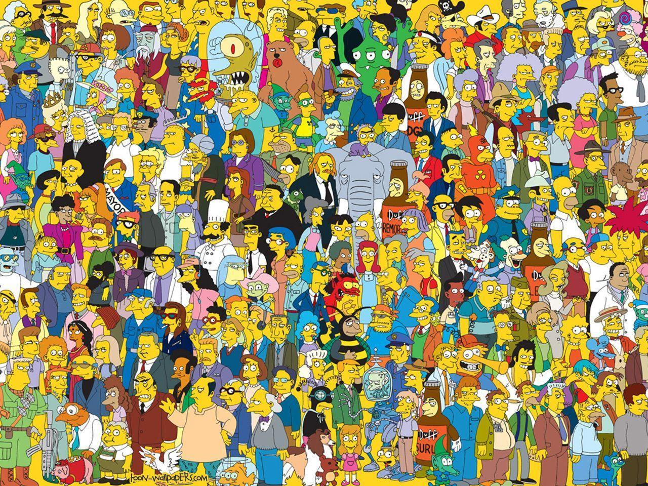 The Simpsons Wallpaper - WallpaperSafari