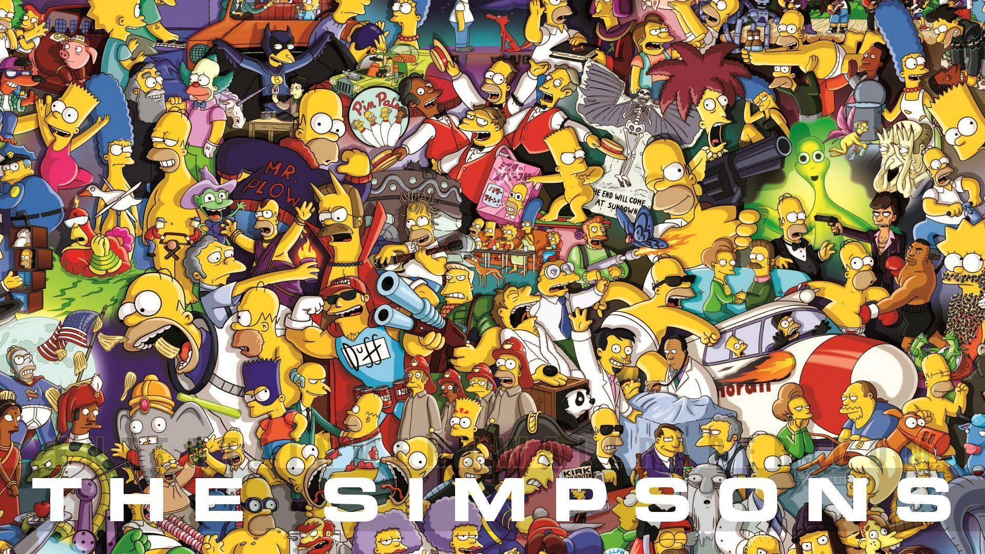 The Simpsons wallpaper HD background download desktop • iPhones ...