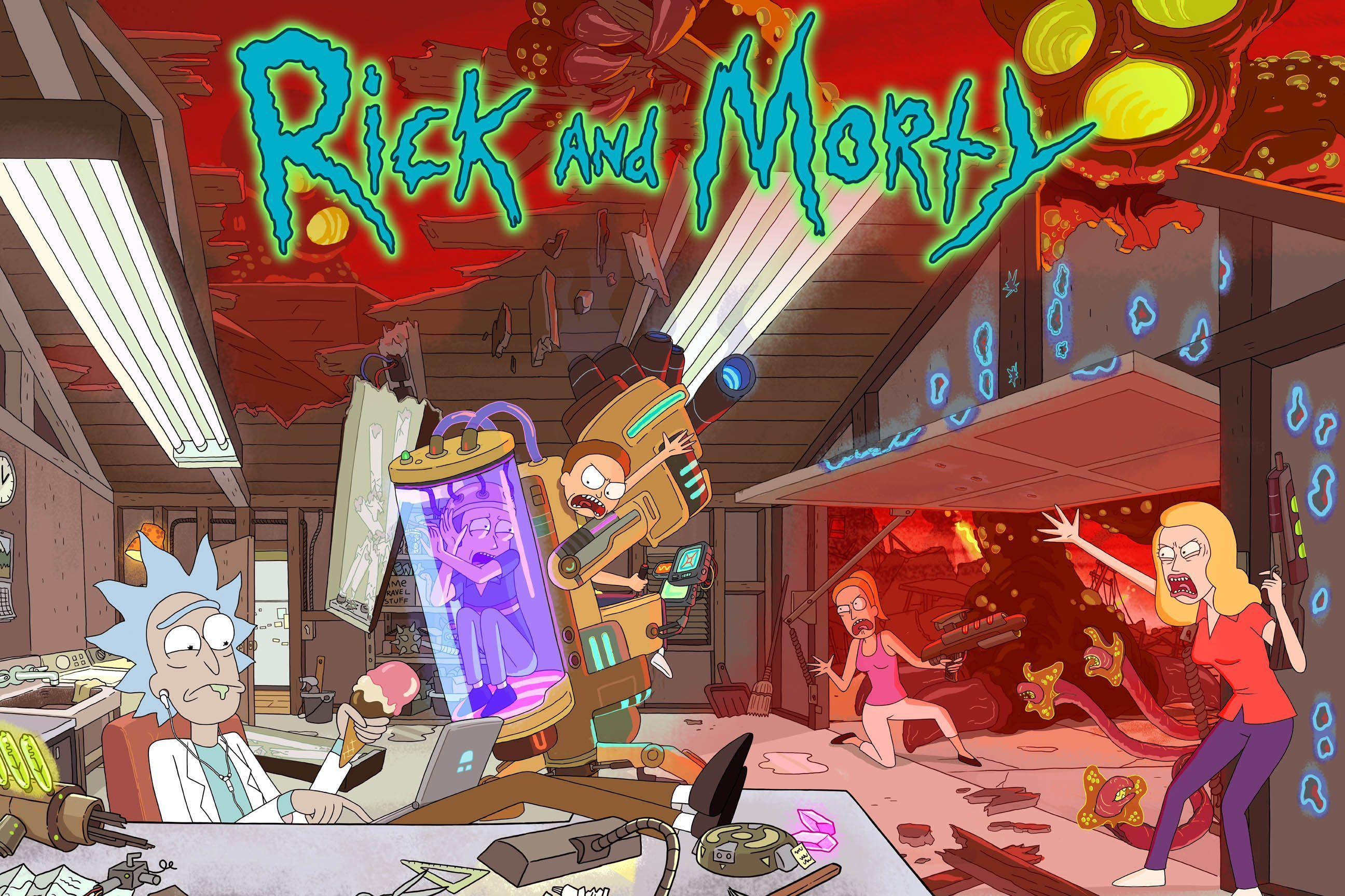 Rick And Morty TV Cartoon wallpaper HD 2016 in Cartoons ...