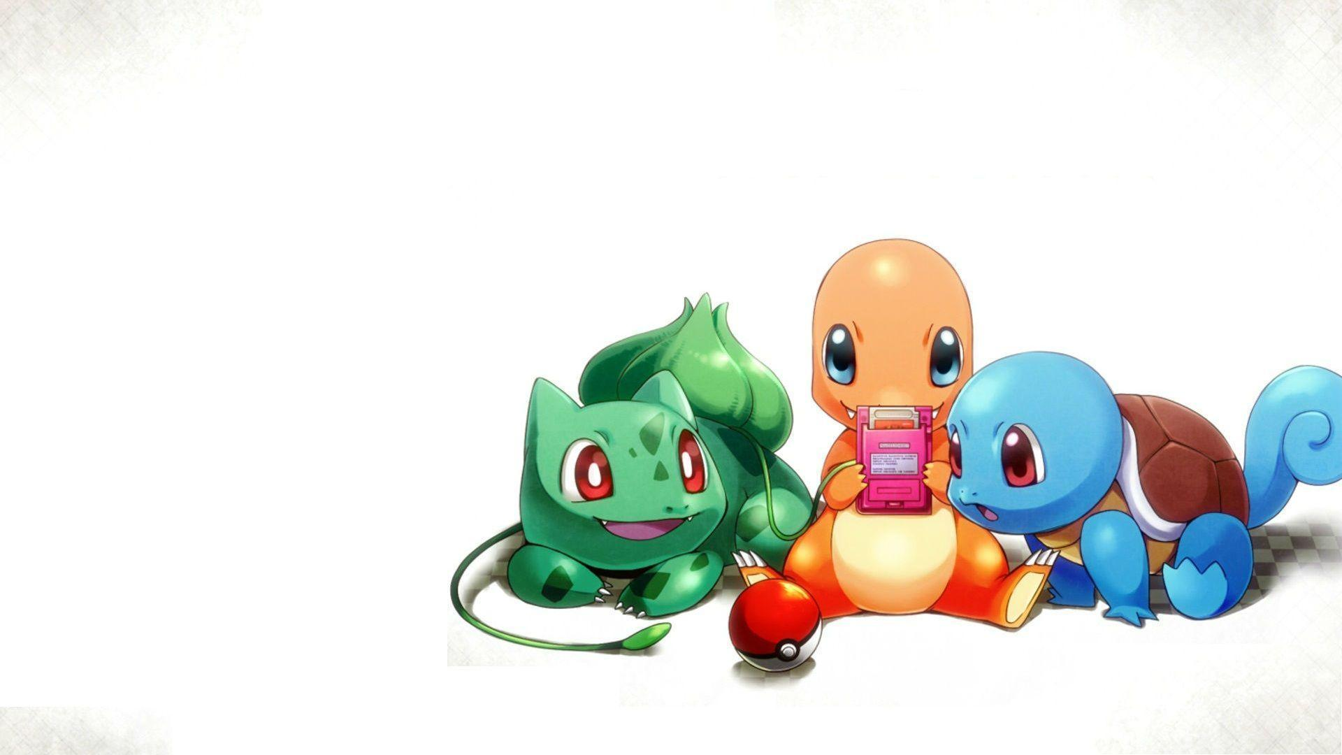 Pokemon Three Monsters HD Wallpaper Download Wallpaper from ...