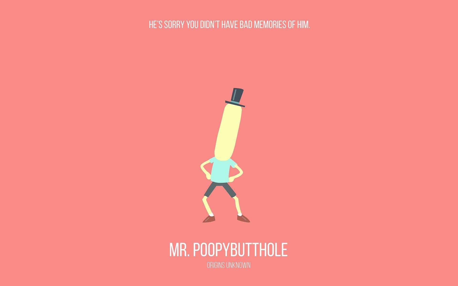 Rick and Morty, #minimalism, #cartoon | Wallpaper No. 282678 ...