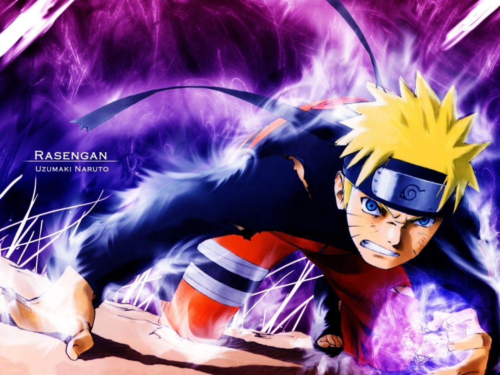 Naruto Shippuden - Rasengan HD Wallpaper | Animation Wallpapers