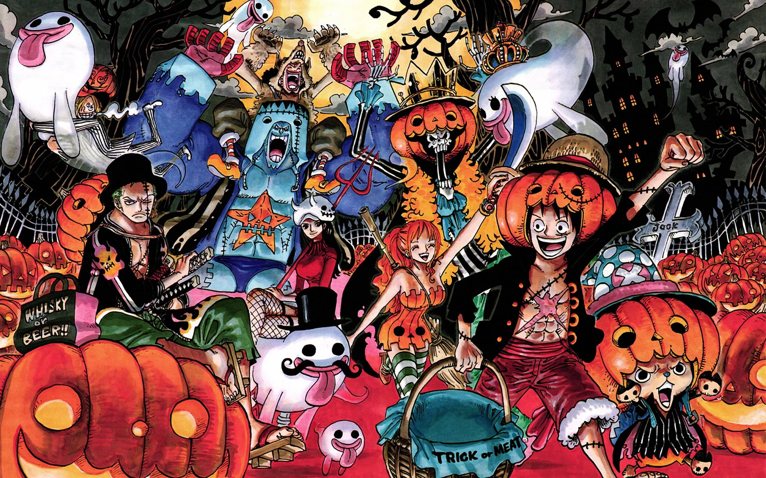 One Piece Halloween Wallpaper #