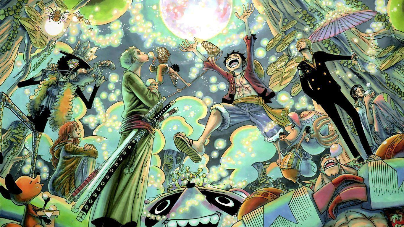 One Piece Wallpaper 1366x768 Desktop Wallpapers | Top Wallpaper ...