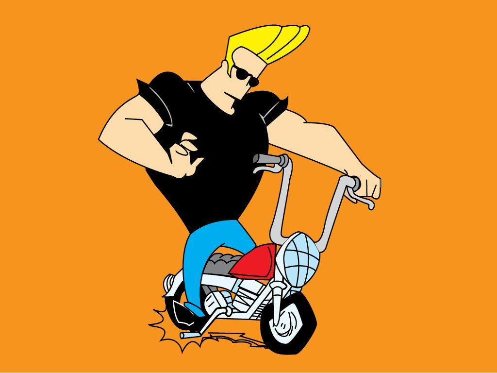Johnny Bravo New Bike Desktop Background