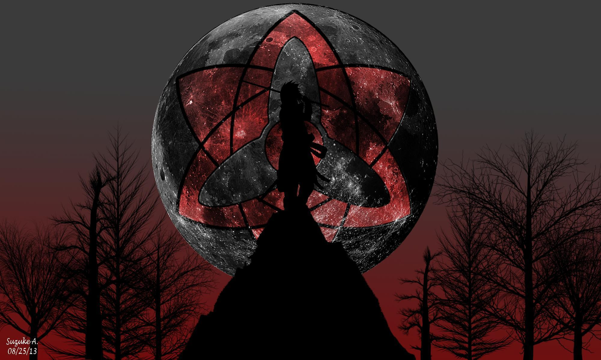Madara Uchiha Sharingan Wallpapers