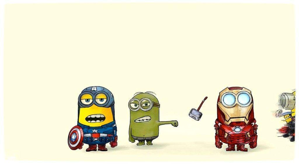 Stunning Minion Hd Wallpaper Superhero 1024x564PX ~ Minions ...