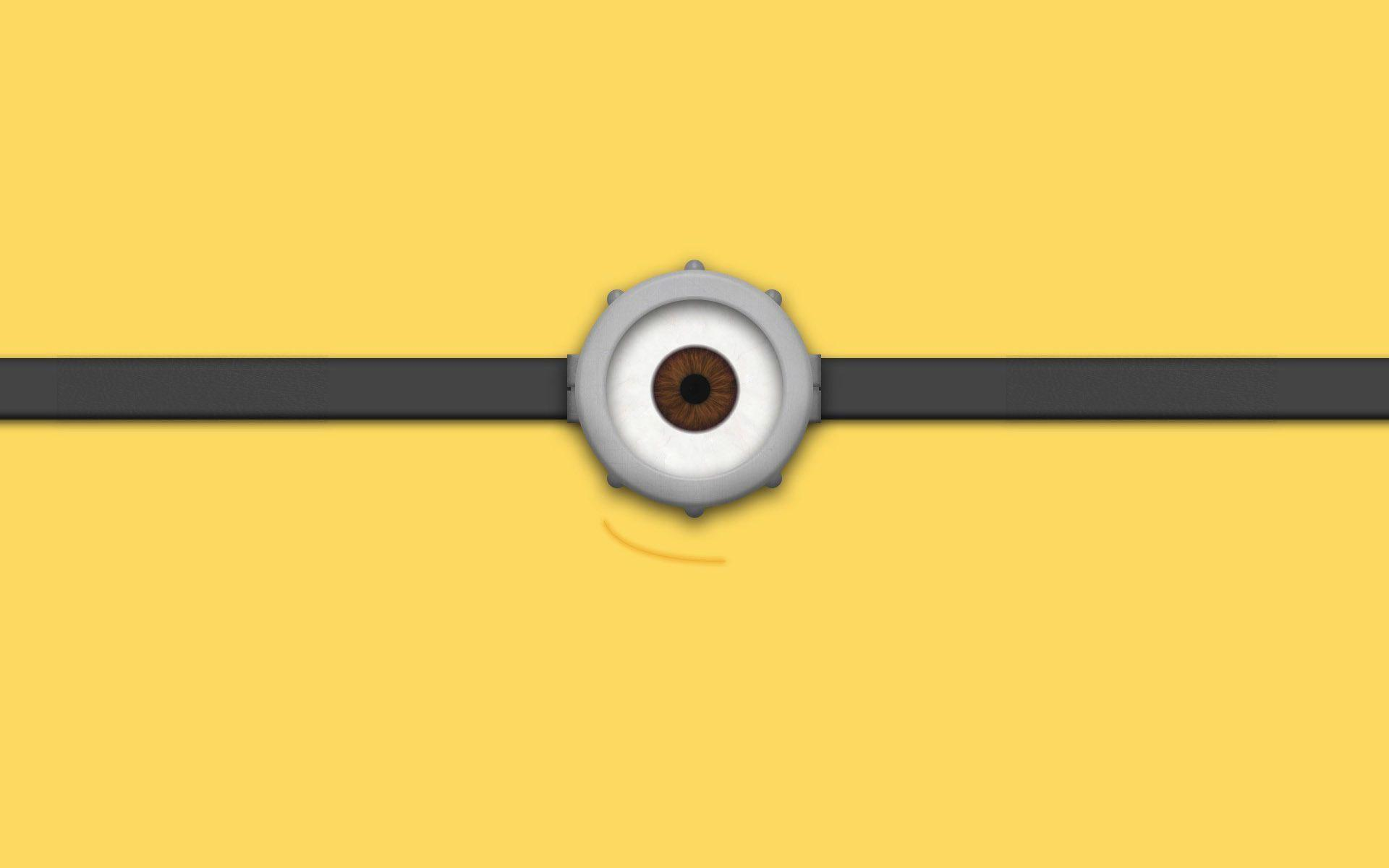 Minion eye Wallpaper #