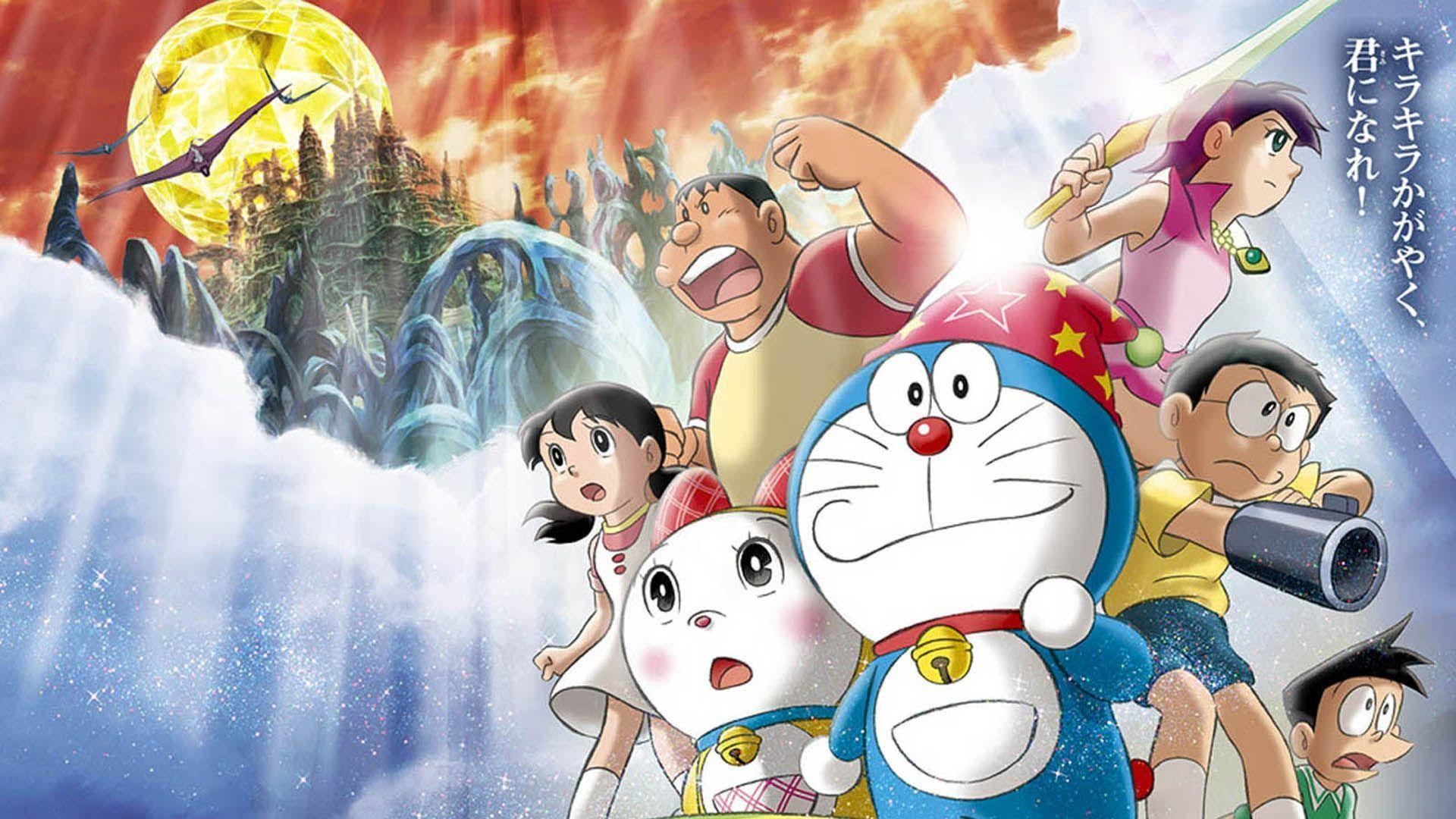 wallpaper doraemon and friends - Free Download Wallpaper Desktop ...