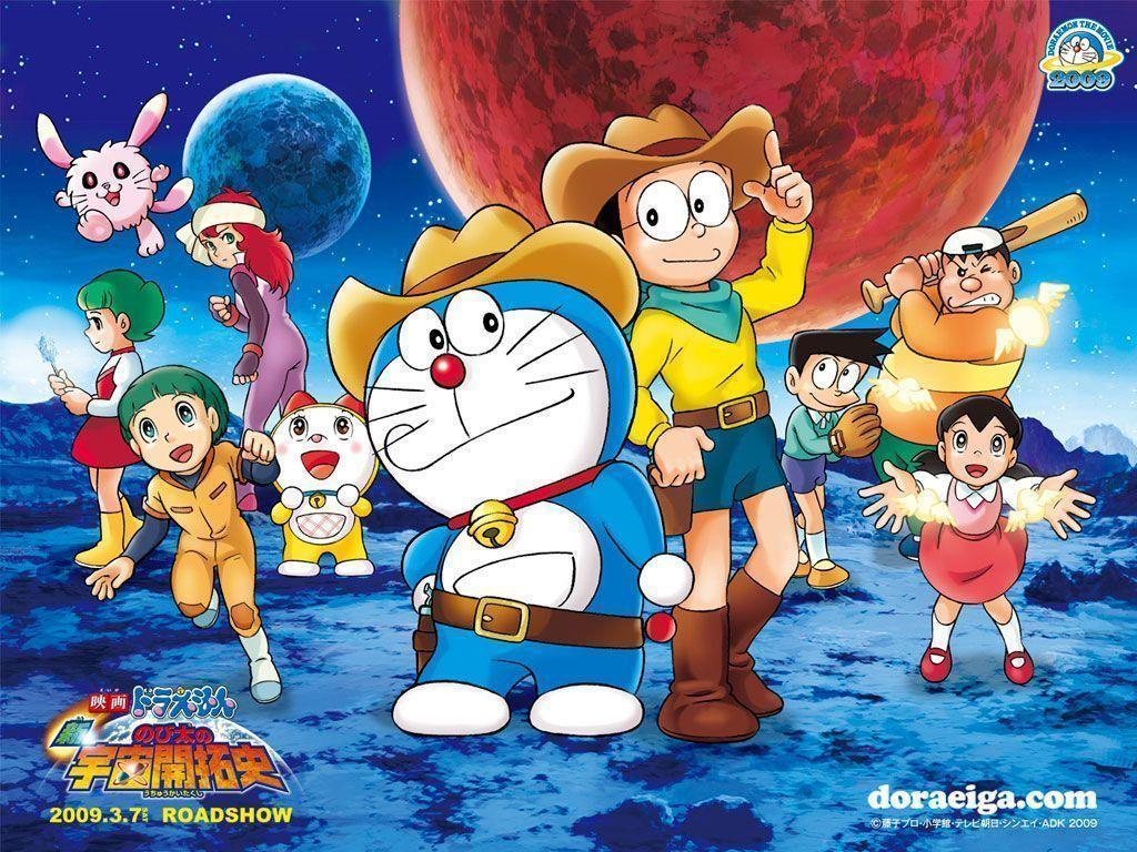 Images For > Doraemon And Friends 3d Wallpaper