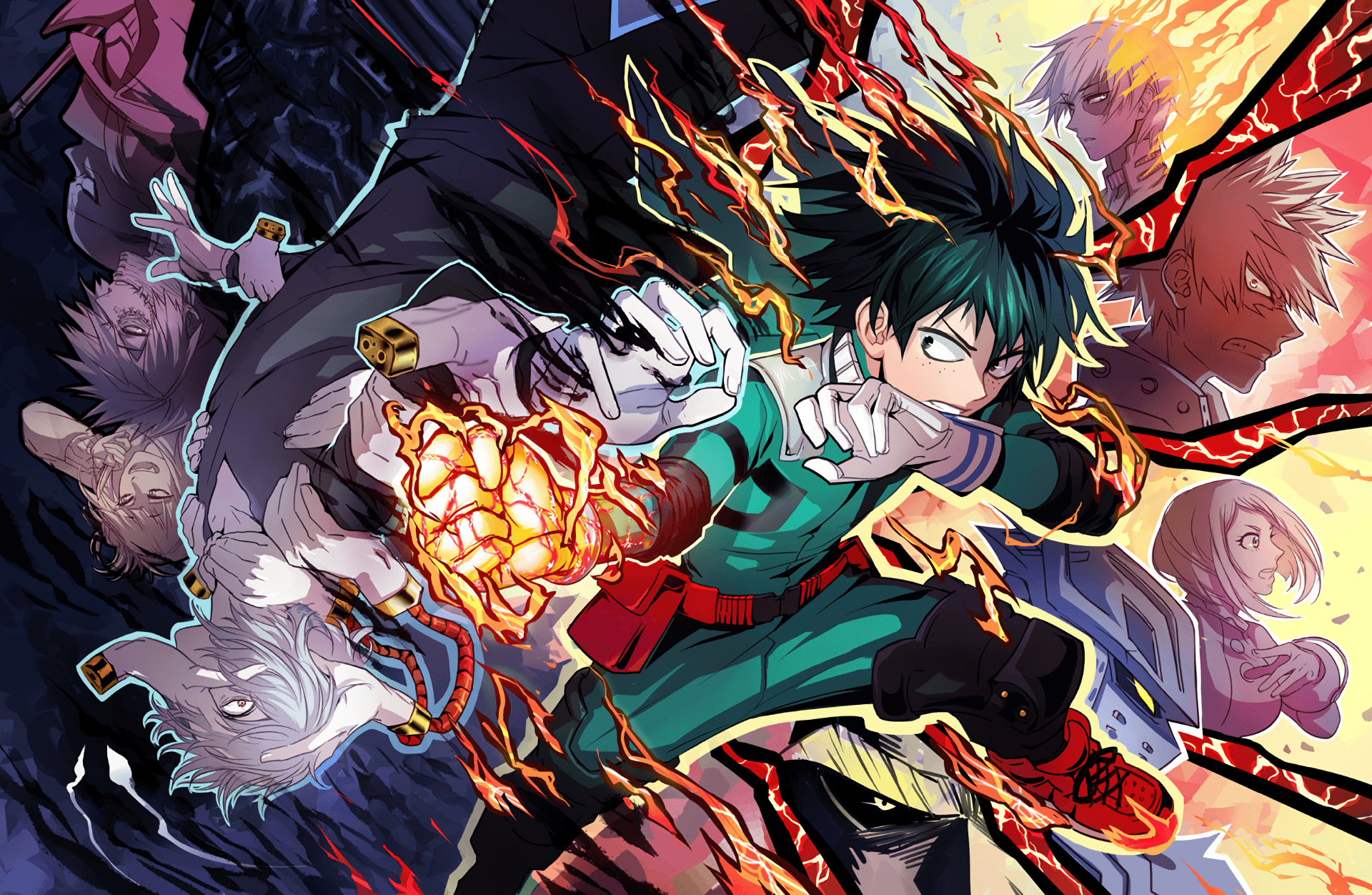 67 Boku No Hero Academia HD Wallpapers | Backgrounds - Wallpaper Abyss