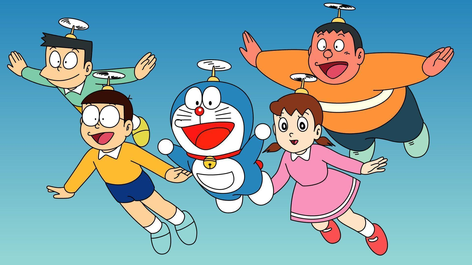 Doraemon And Friends Wallpaper | Wallpaper HD | Best Wallpaper ...