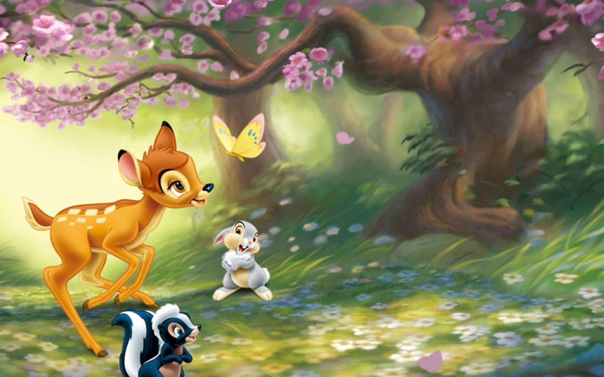 Download Bambi Disney Wallpaper 1920x1200 | Wallpoper #312719