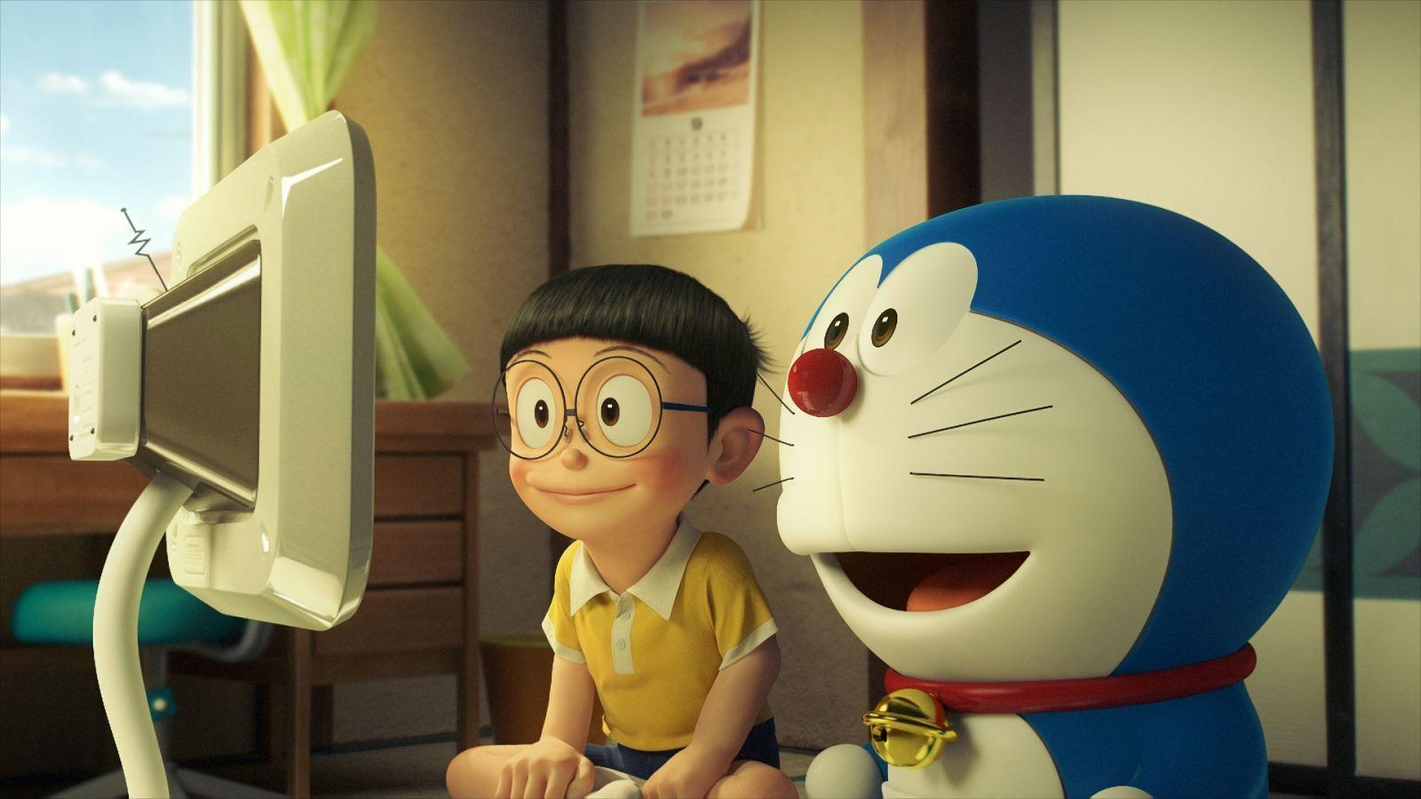 Doraemon Stand By Me 3D High Quality Photo Desktop Backgrounds Free