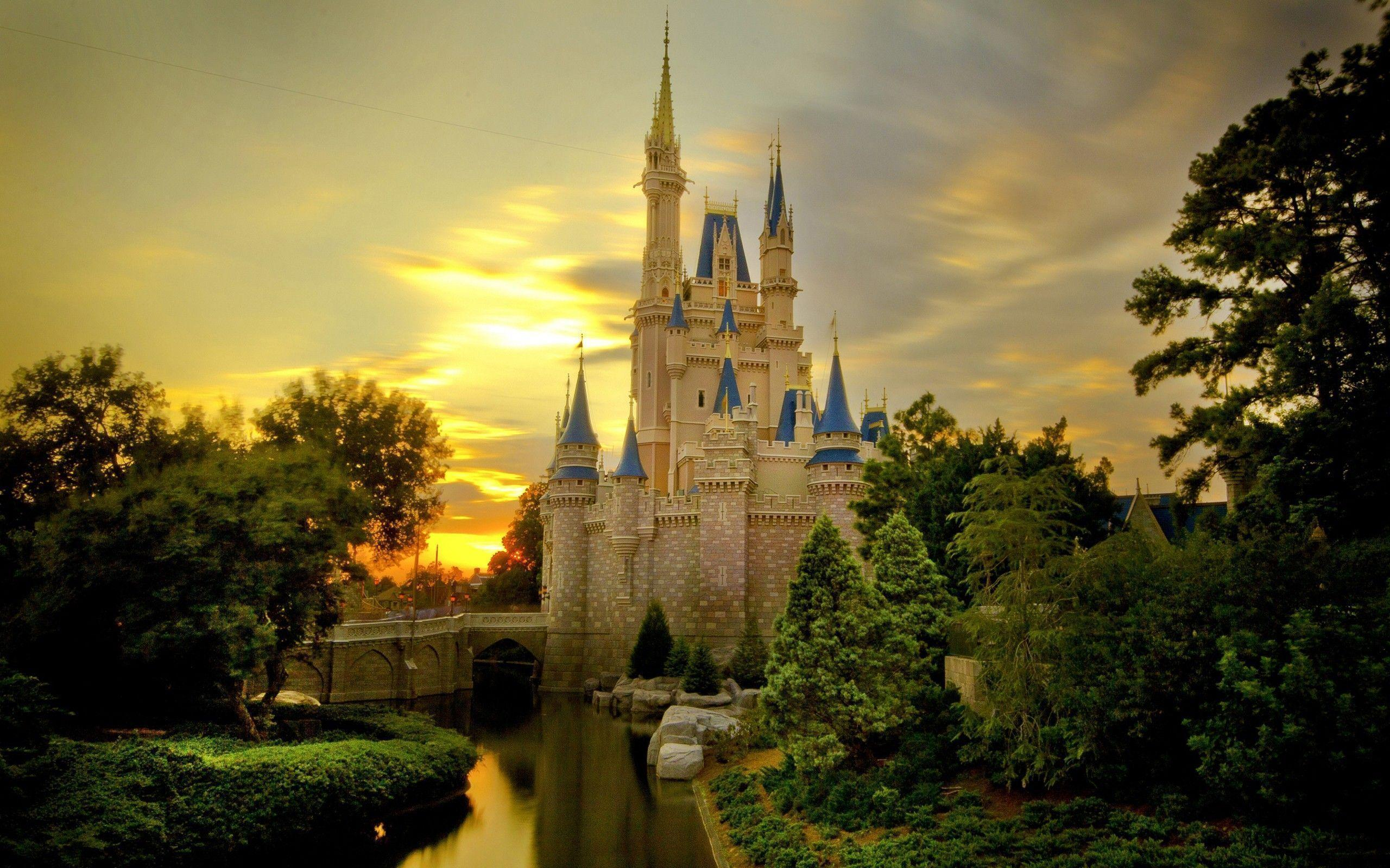 Wallpapers For > Disney Castle Background Clipart