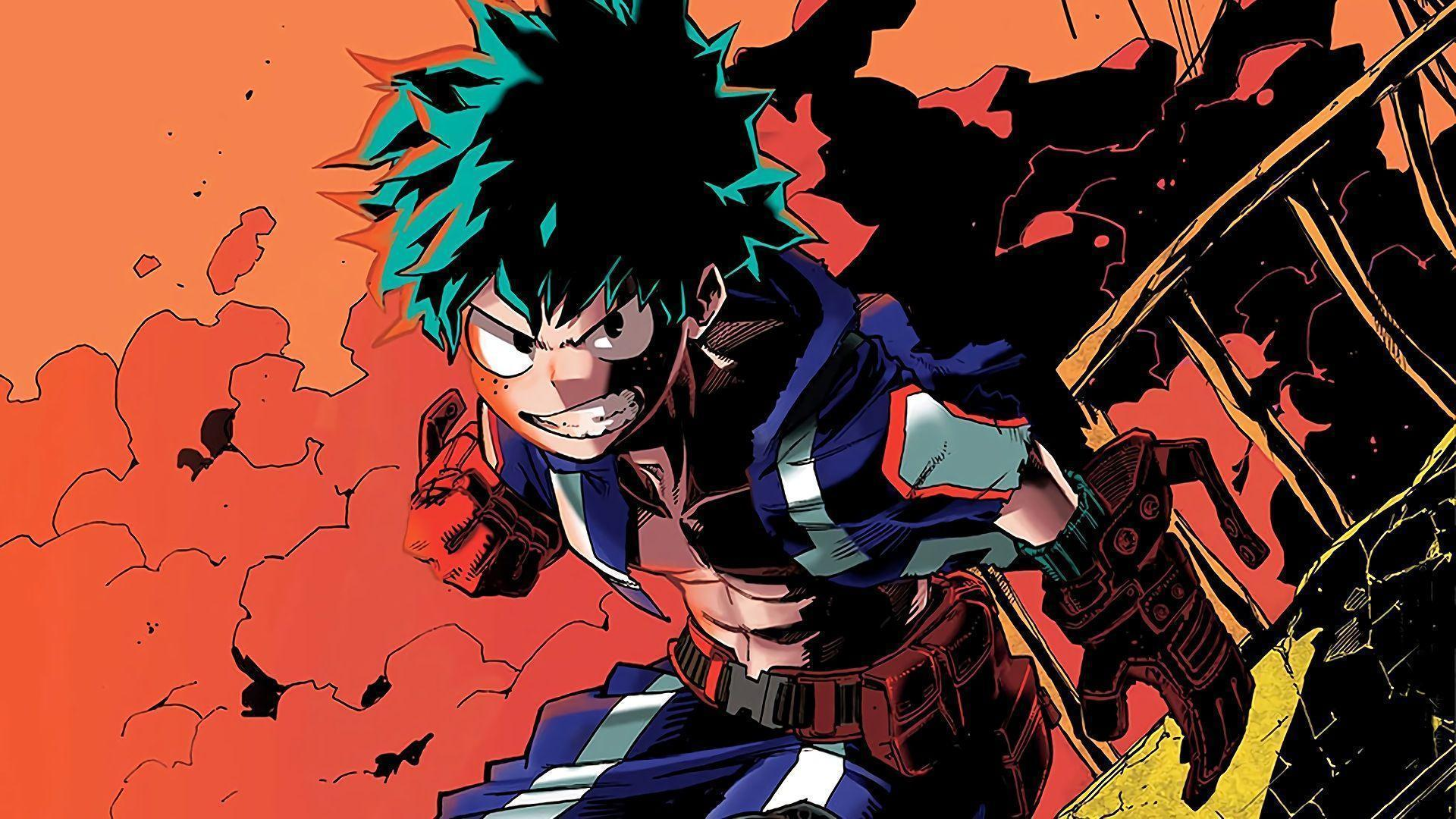 Izuku Midoriya Boku no Hero Academia... Wallpaper #30193