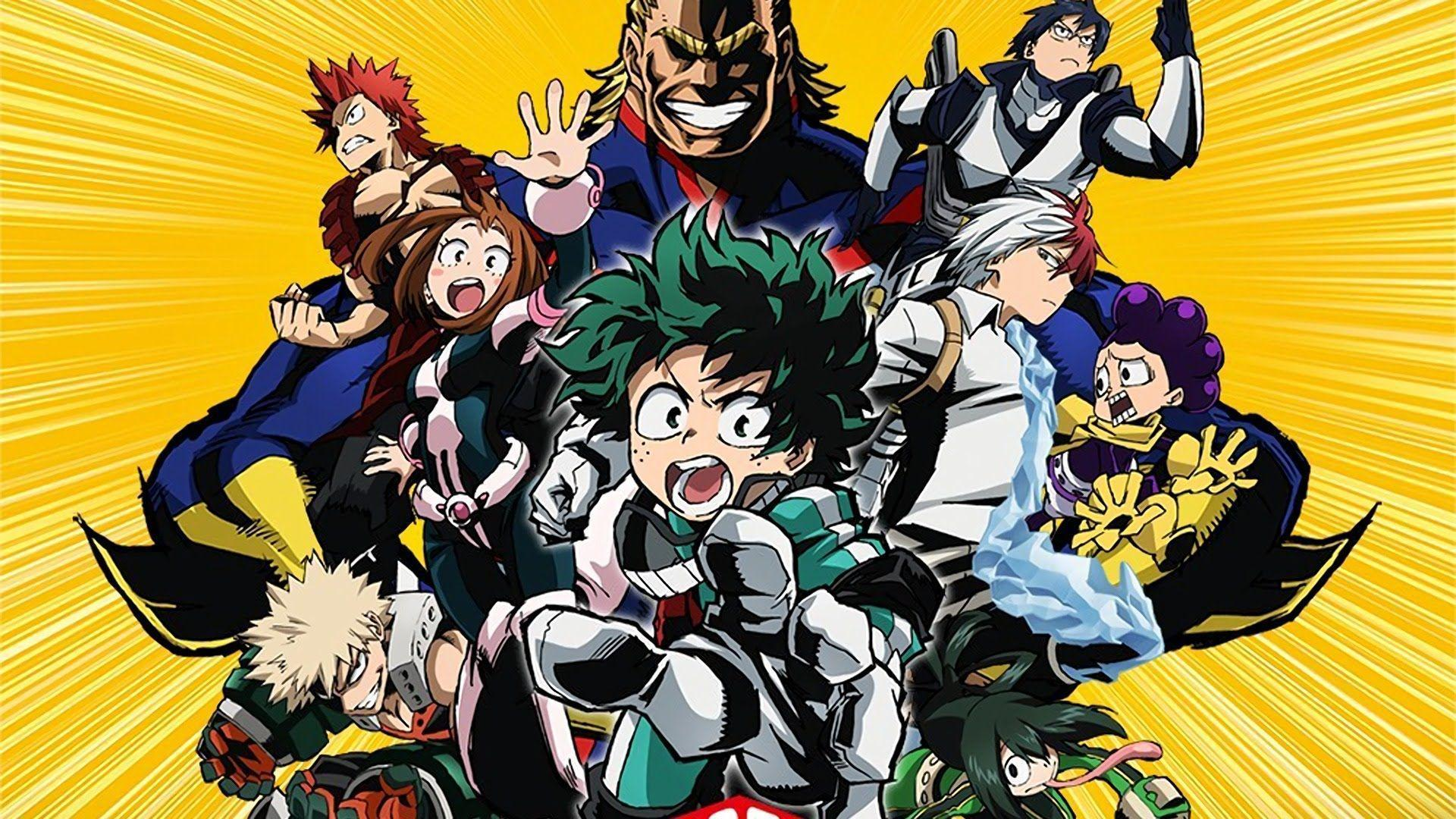 Quick Review: Boku no Hero Academia (My Hero Academia) - YouTube