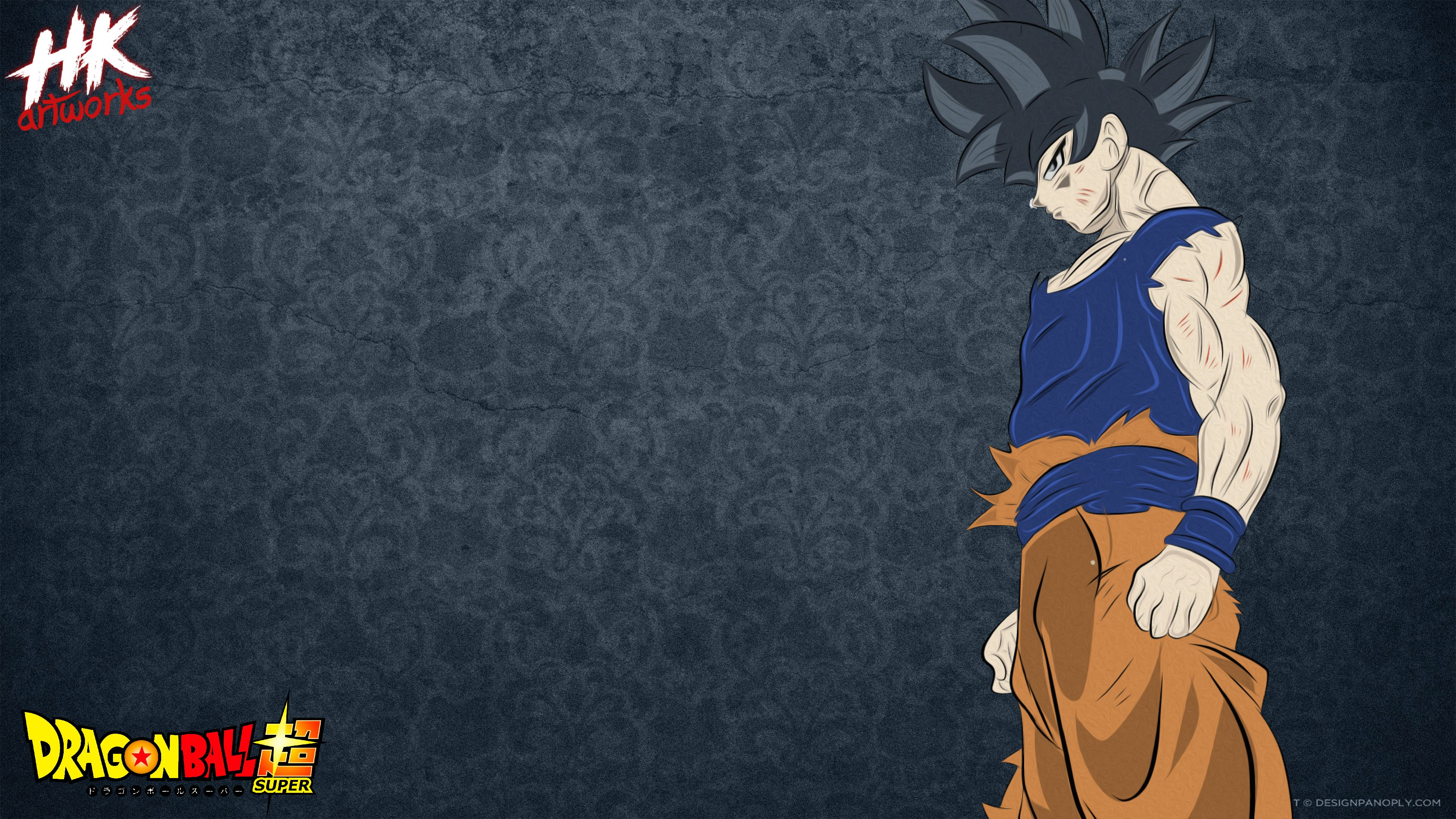 Goku Ultra Instinct Quick Drawing Wallpaper by Hkartworks99 on ...