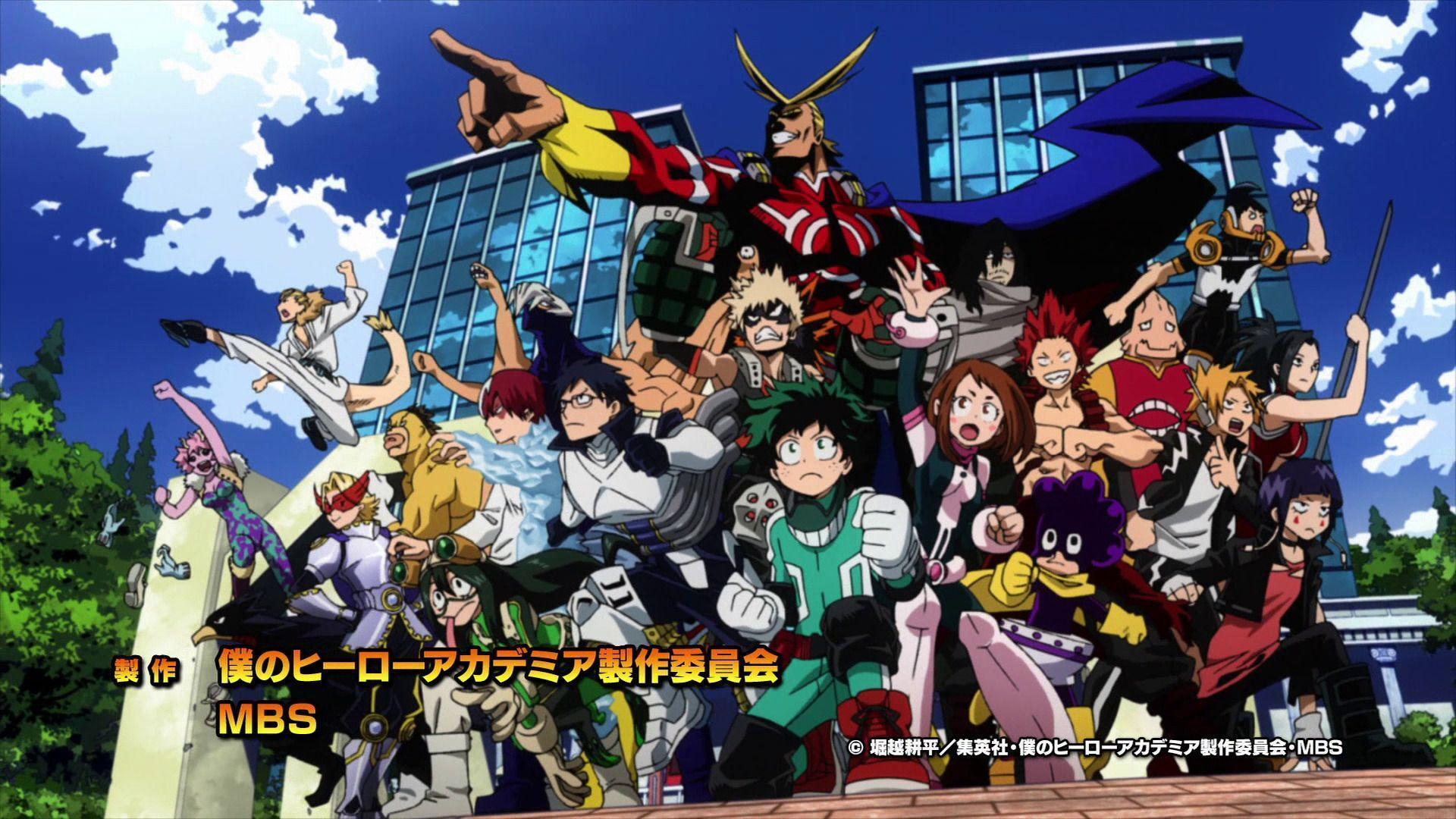 Boku No Hero Academia Wallpapers Free Pictures On Greepx