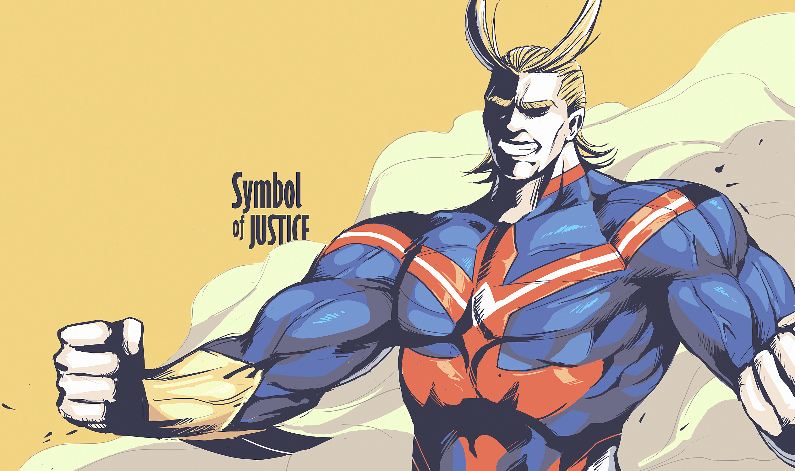 Anime Boku No Hero Academia All Might Wallpaper | Boku no Hero ...