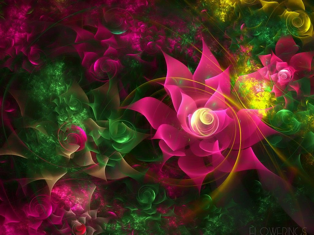 3D Flowers Wallpapers | Free 3D Wallpaper Download | Images ...
