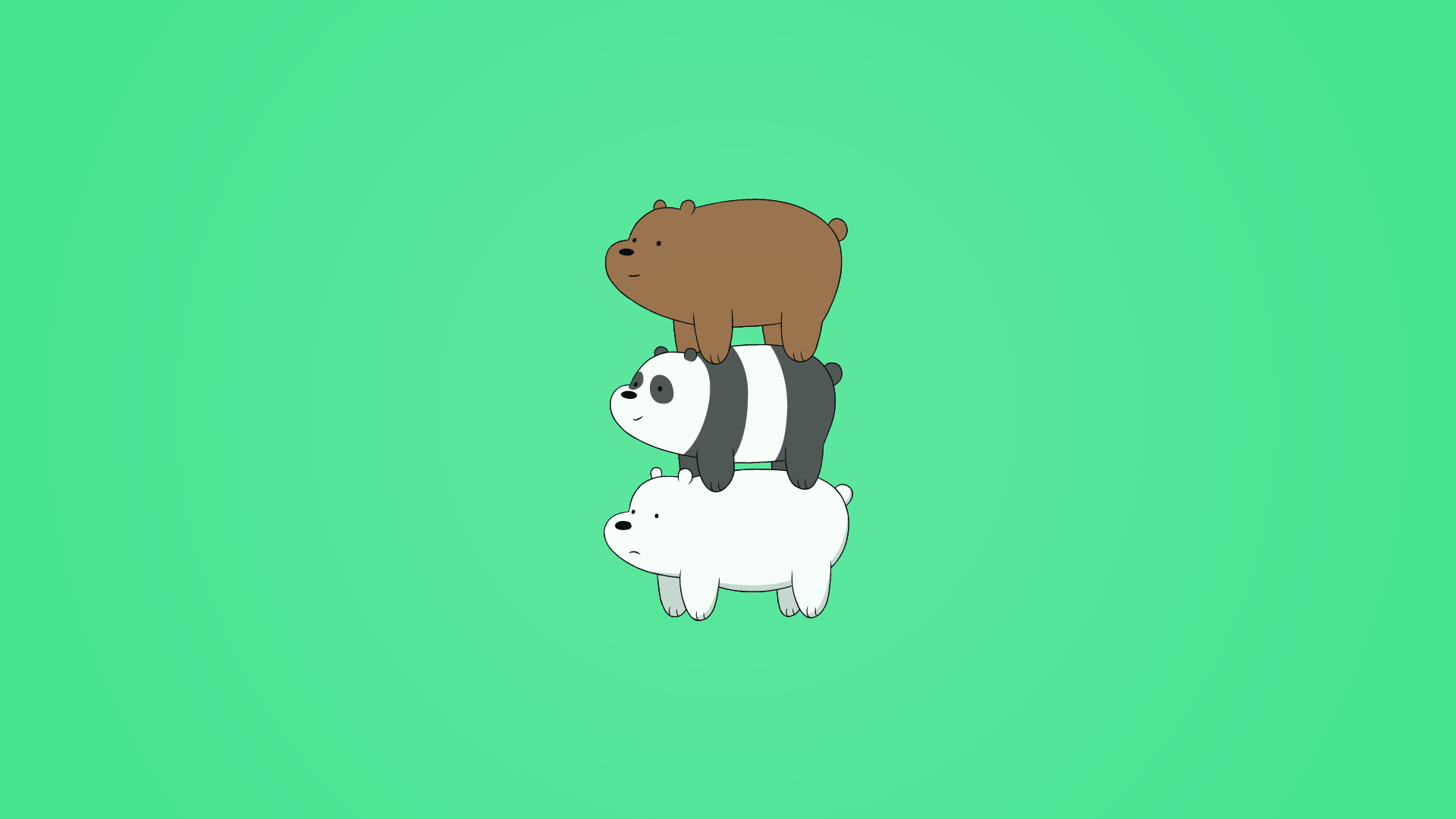 We Bare Bears Wallpapers FREE On GreePX