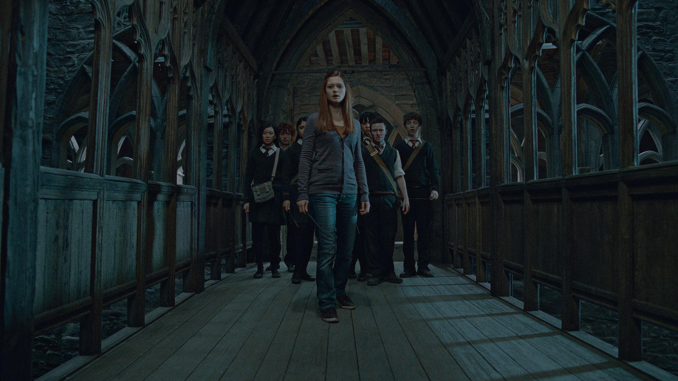 Night, Building, Harry Potter, Ginny Weasley, Midnight Laptop