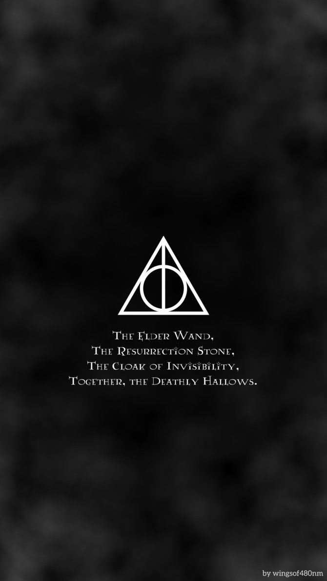 Harry Potter And The Deathly Hallows Symbol Wallpapers Phone » Cinema