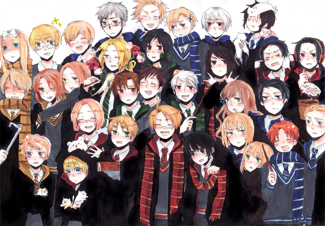 Harry Potter Anime image Anime Potter HD wallpapers and backgrounds