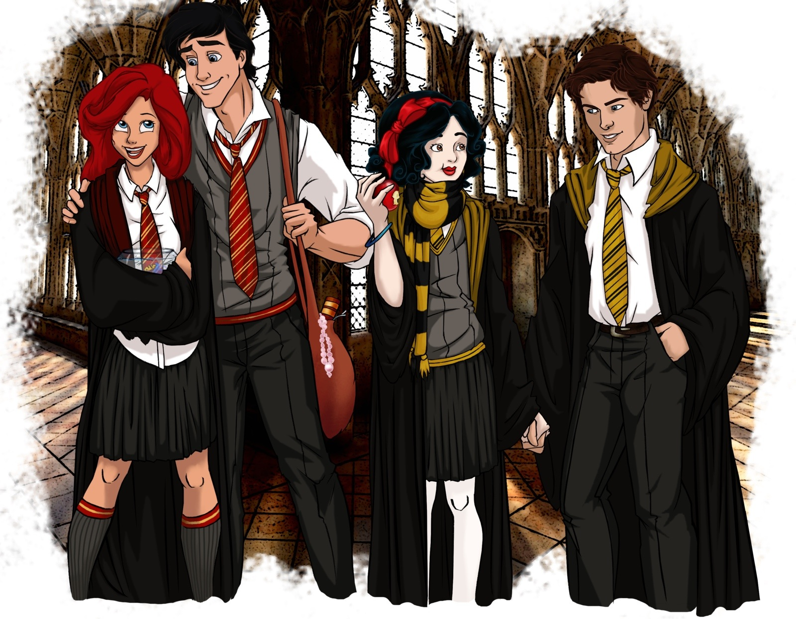 Harry Potter Characters Widescreen 2 HD Wallpapers