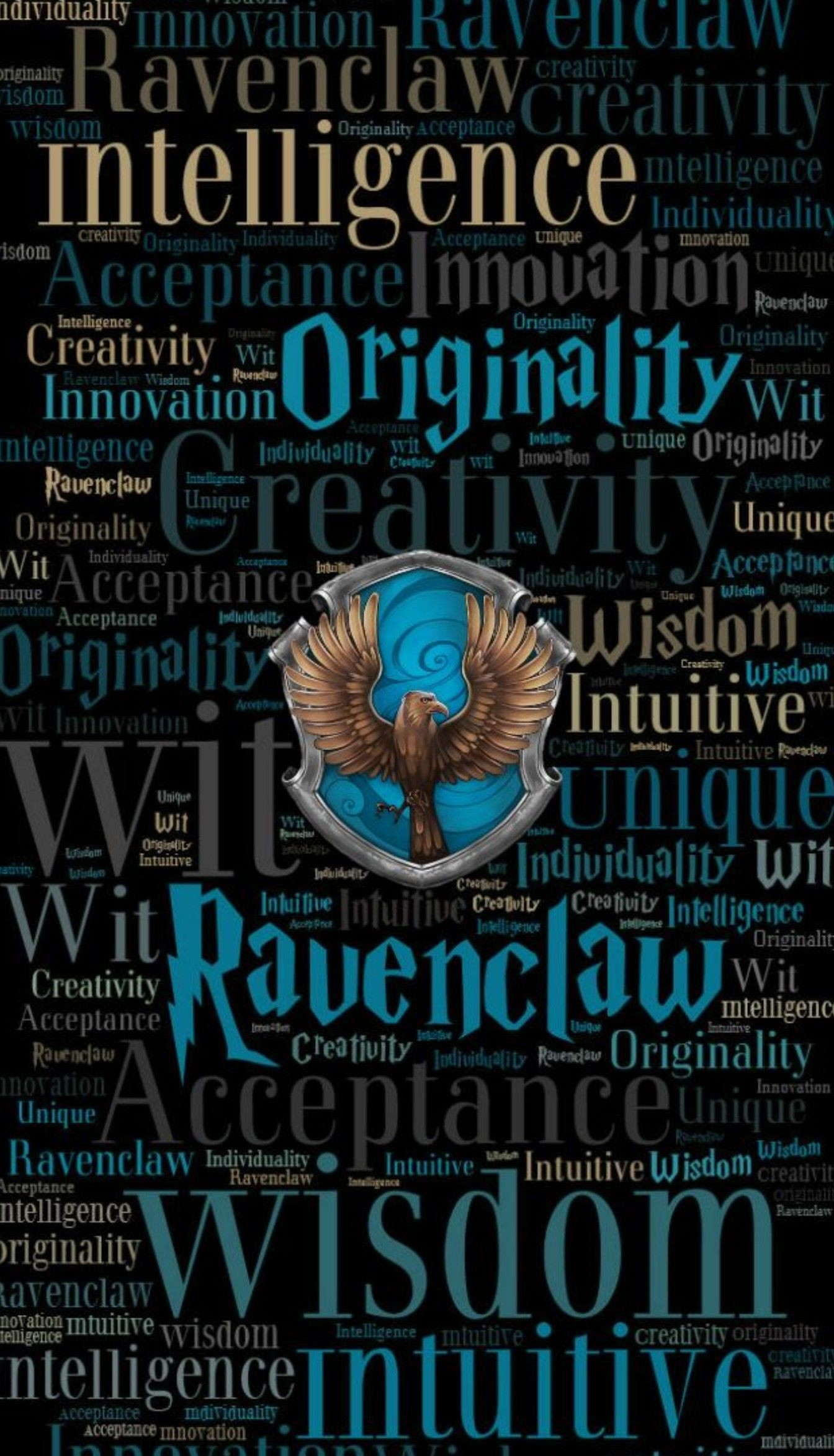 69+ Ravenclaw Iphone Wallpapers
