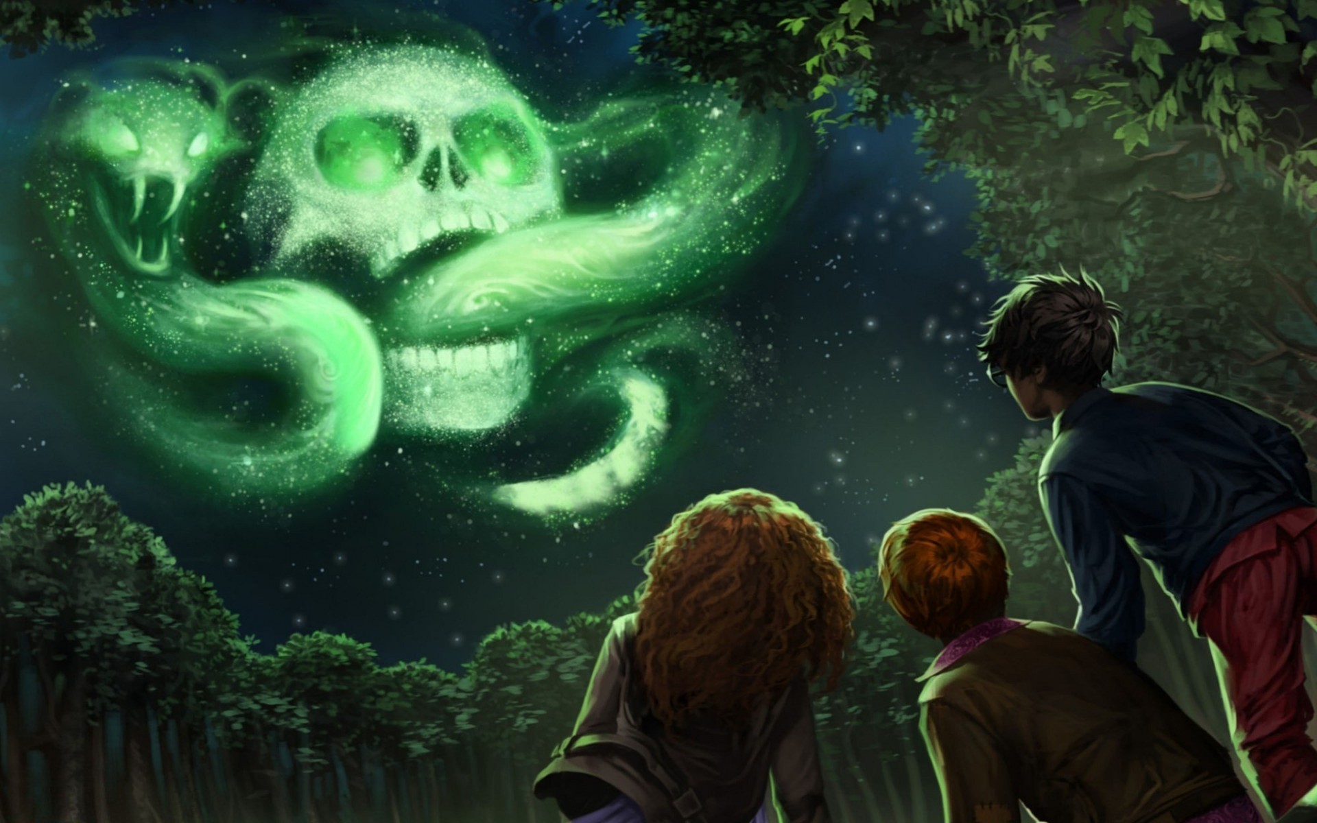Harry Potter And The Goblet Of Fire Skull Wallpapers 12490