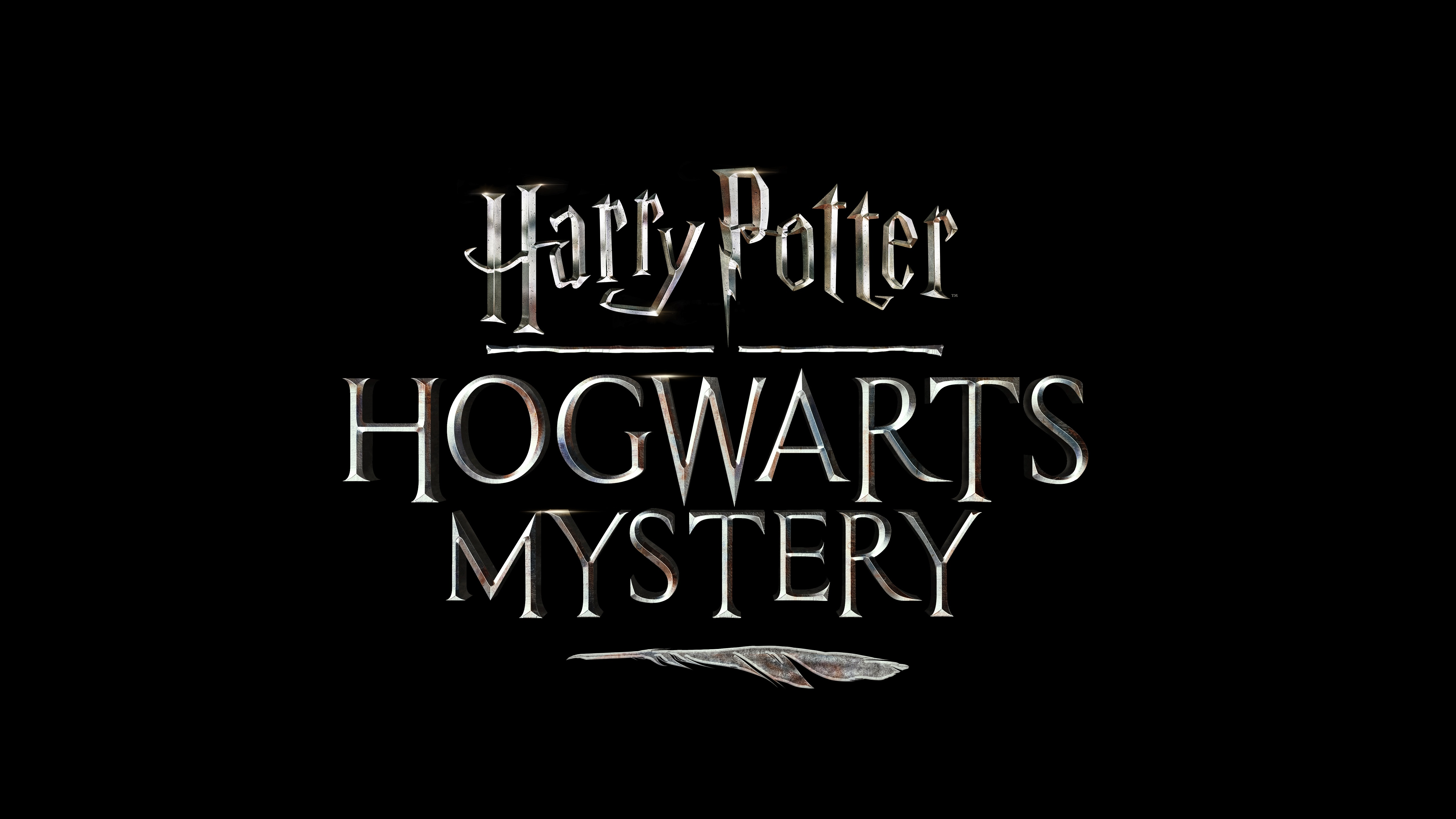 Harry Potter Hogwarts Mystery Game Logo, HD Games, 4k Wallpapers