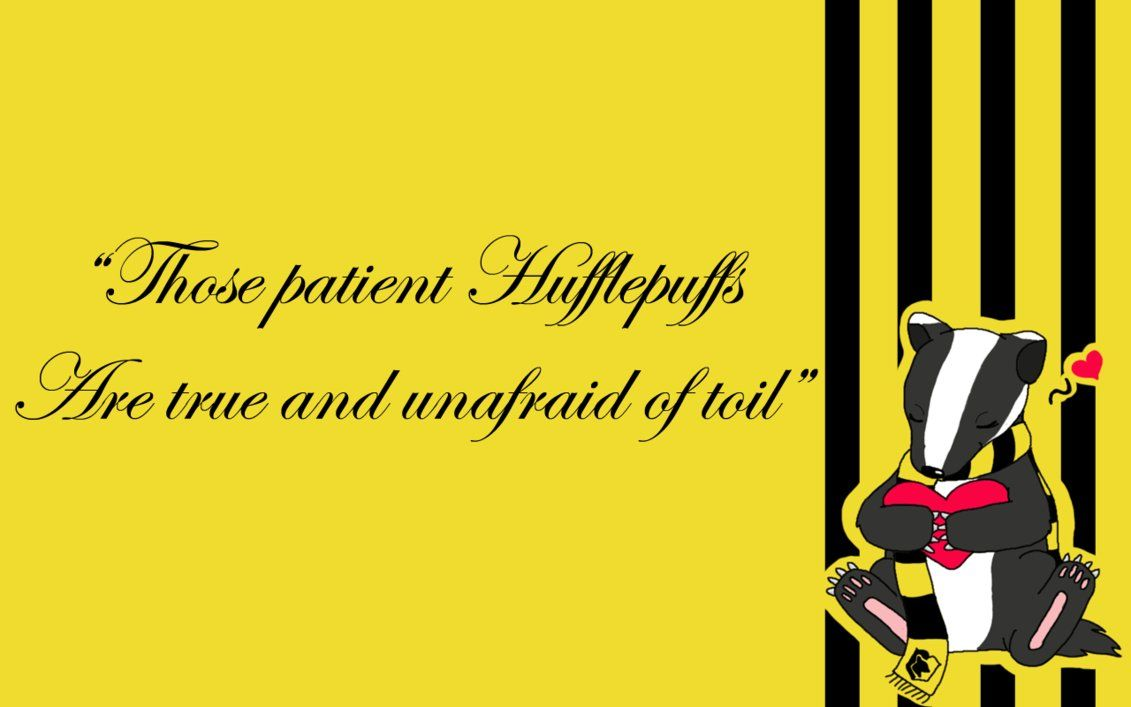 Image of Hufflepuff Wallpapers Quoets
