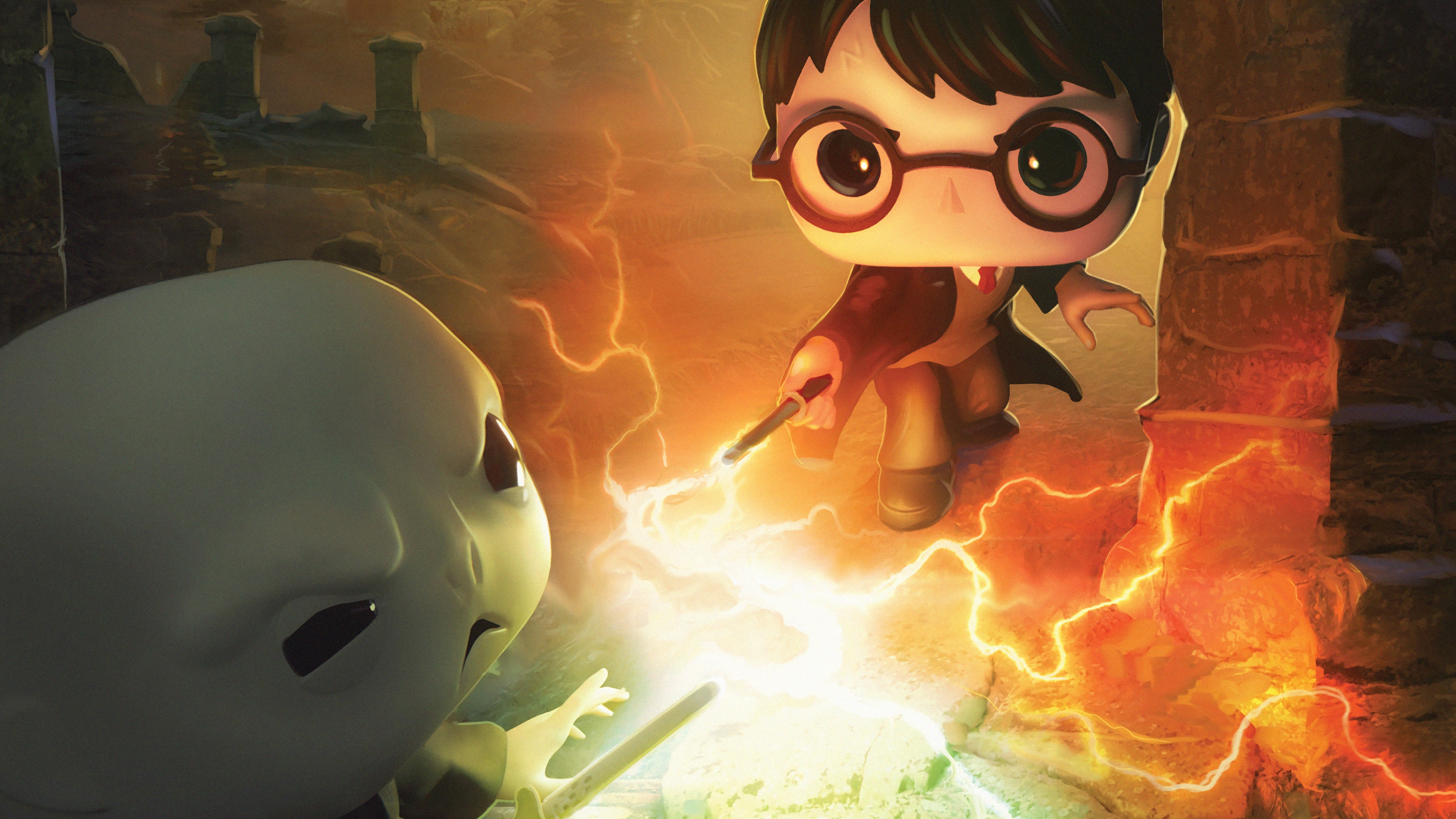 Harry Potter Dc Funkoverse 4k, HD Games, 4k Wallpapers