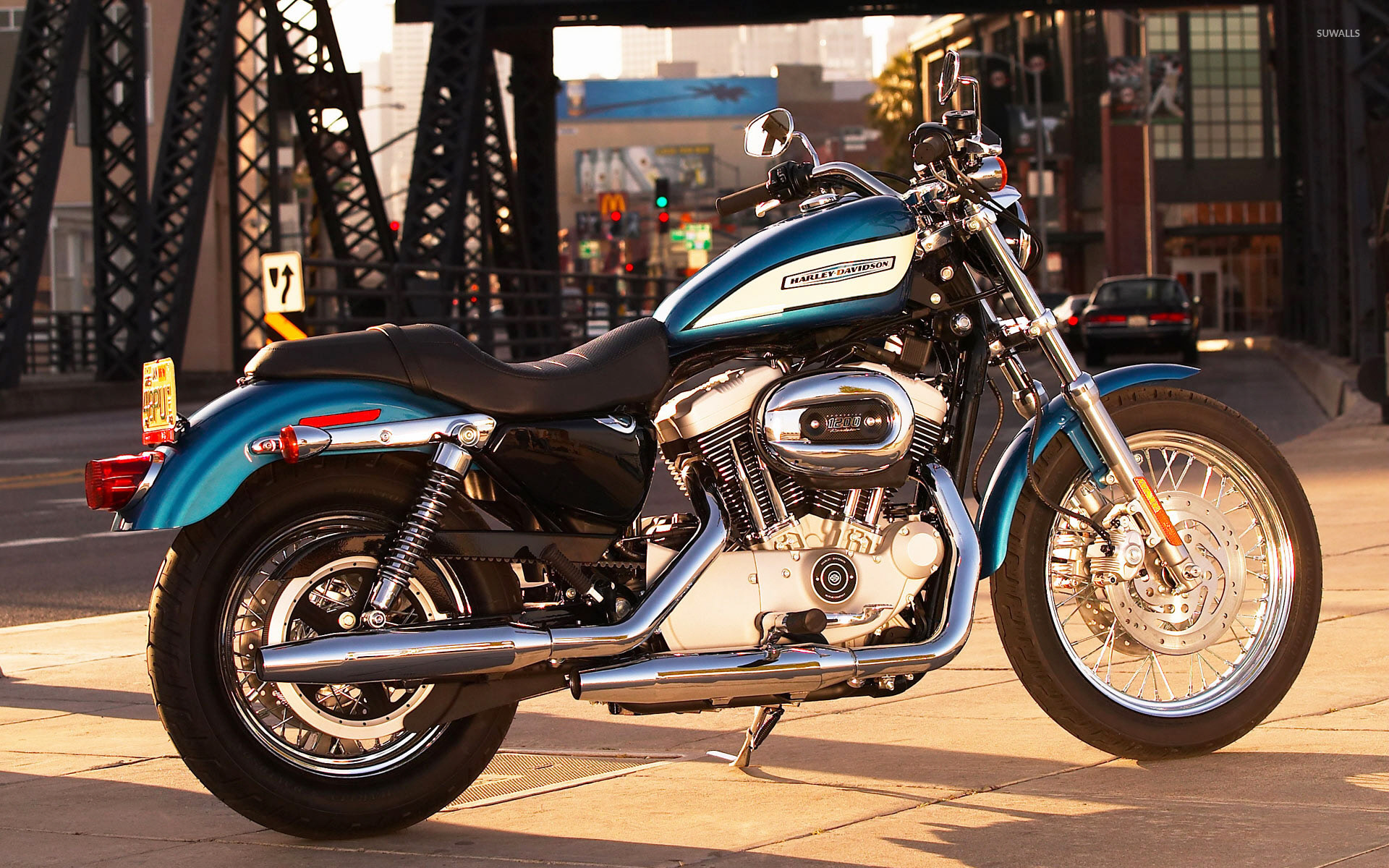 Harley Davidson Sportster XL1200R wallpapers