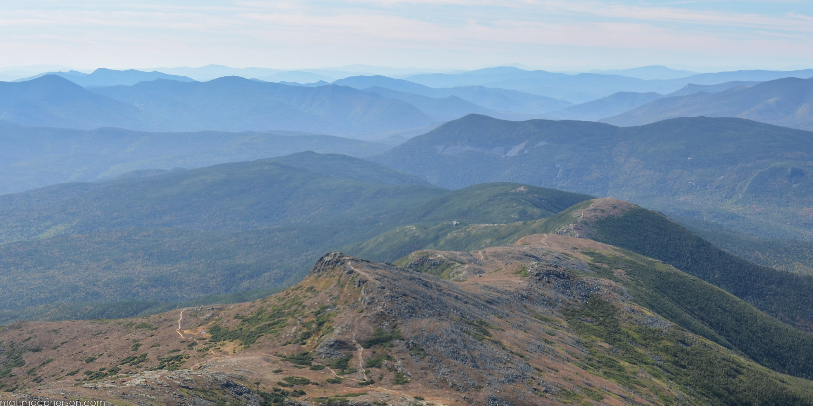 The Appalachian Trail Through the Southern Presidentials wallpapers