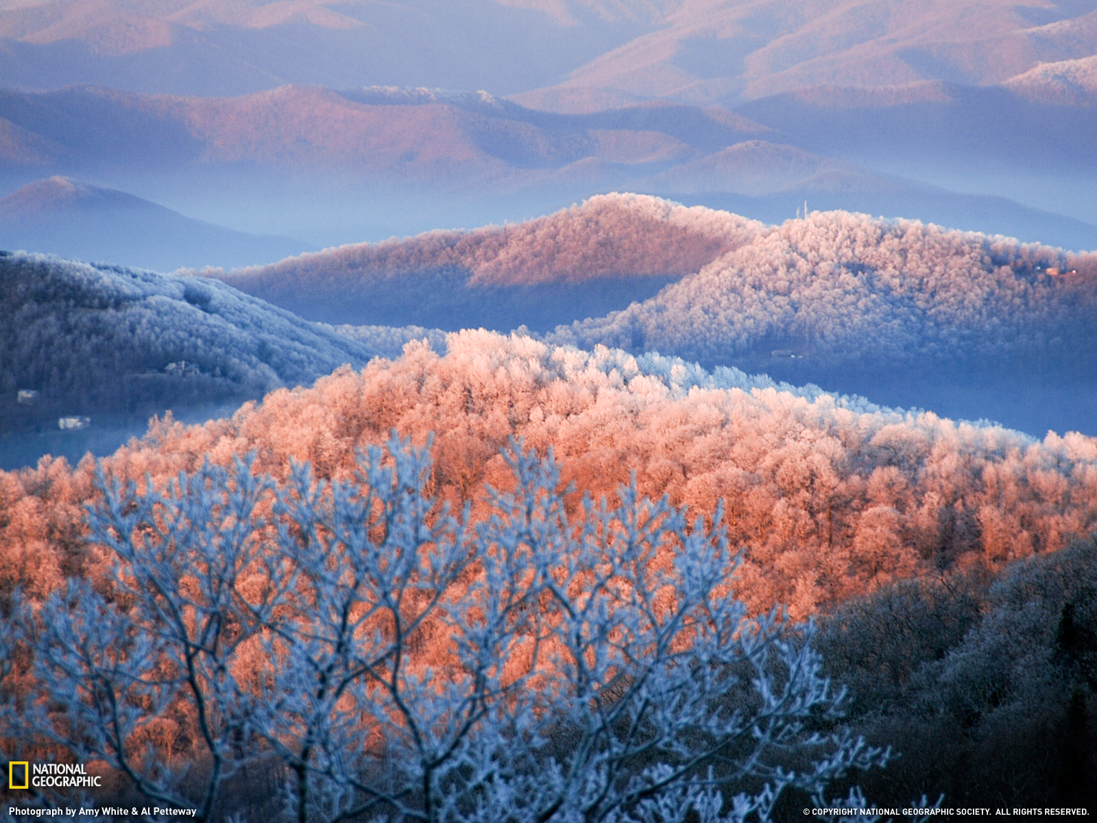 Group of Wallpapers Appalachian Mountains North