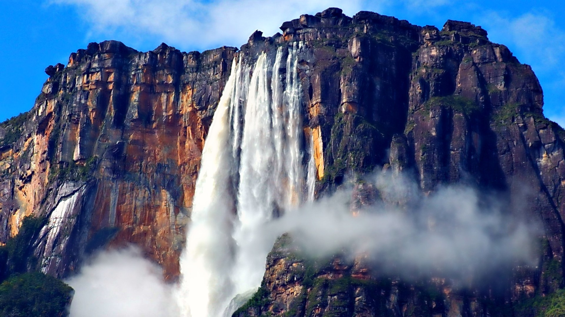 Angel falls worlds highest water wallpapers