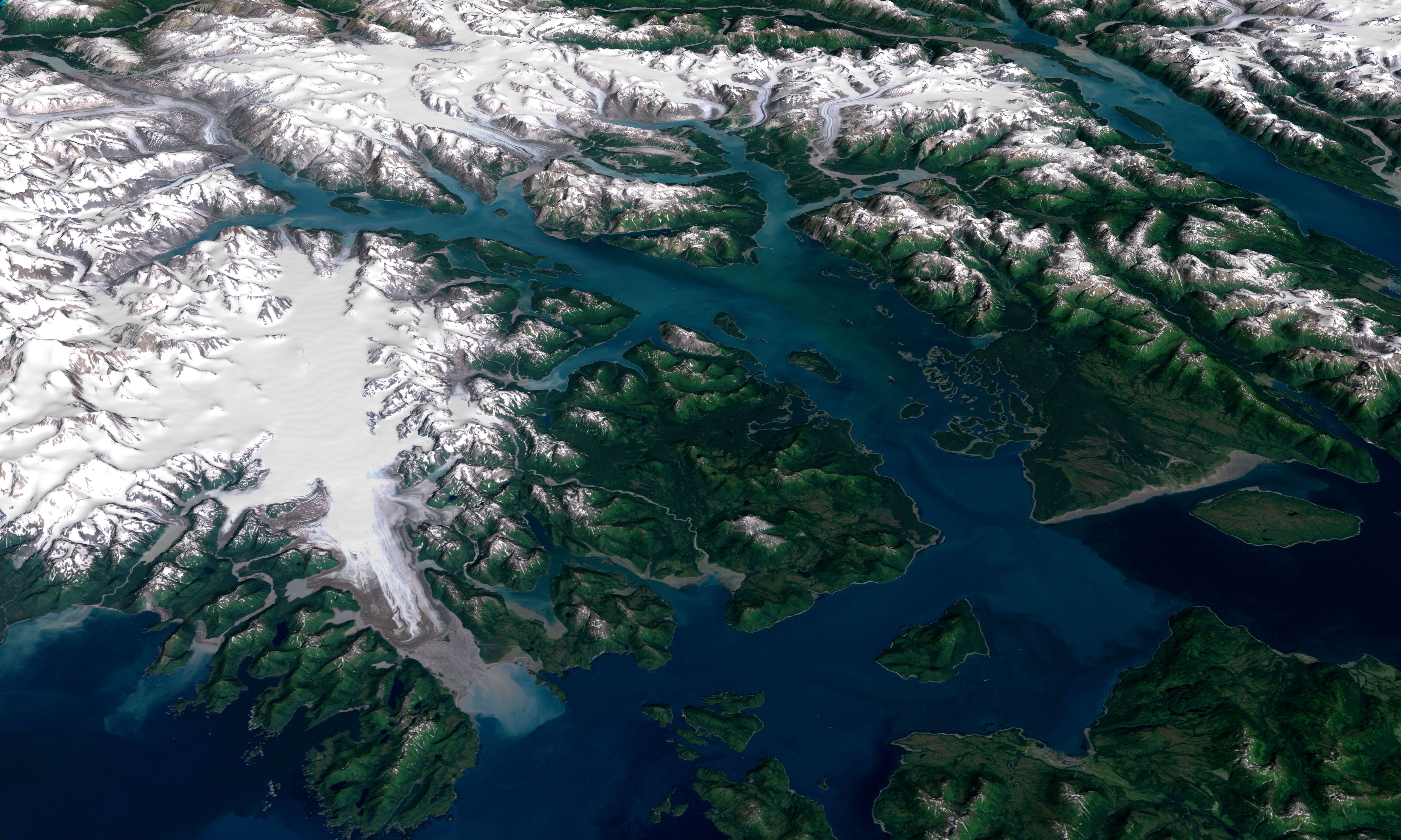 Glacier Bay National Park and Preserve : Image of the Day