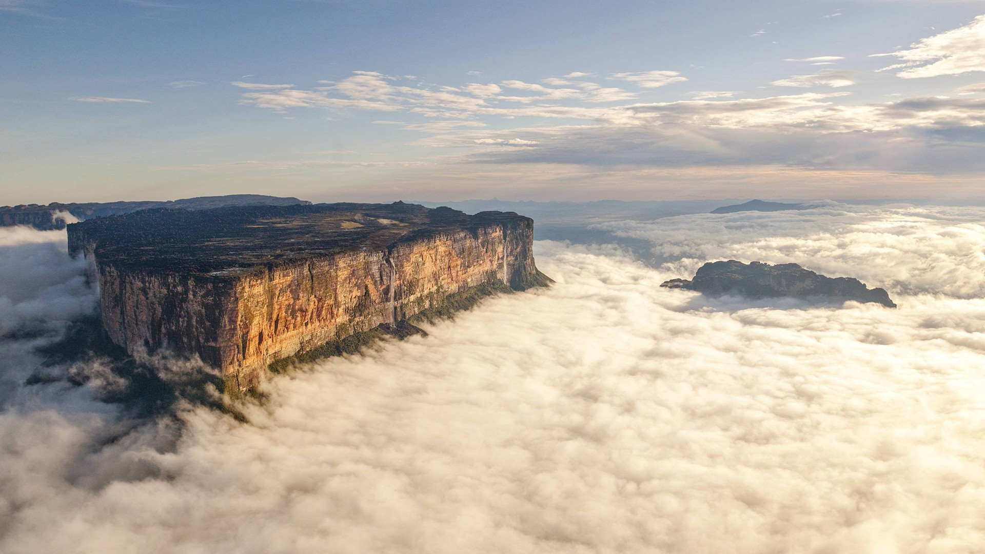 landscape, Mount Roraima, Mist Wallpapers HD / Desktop and Mobile