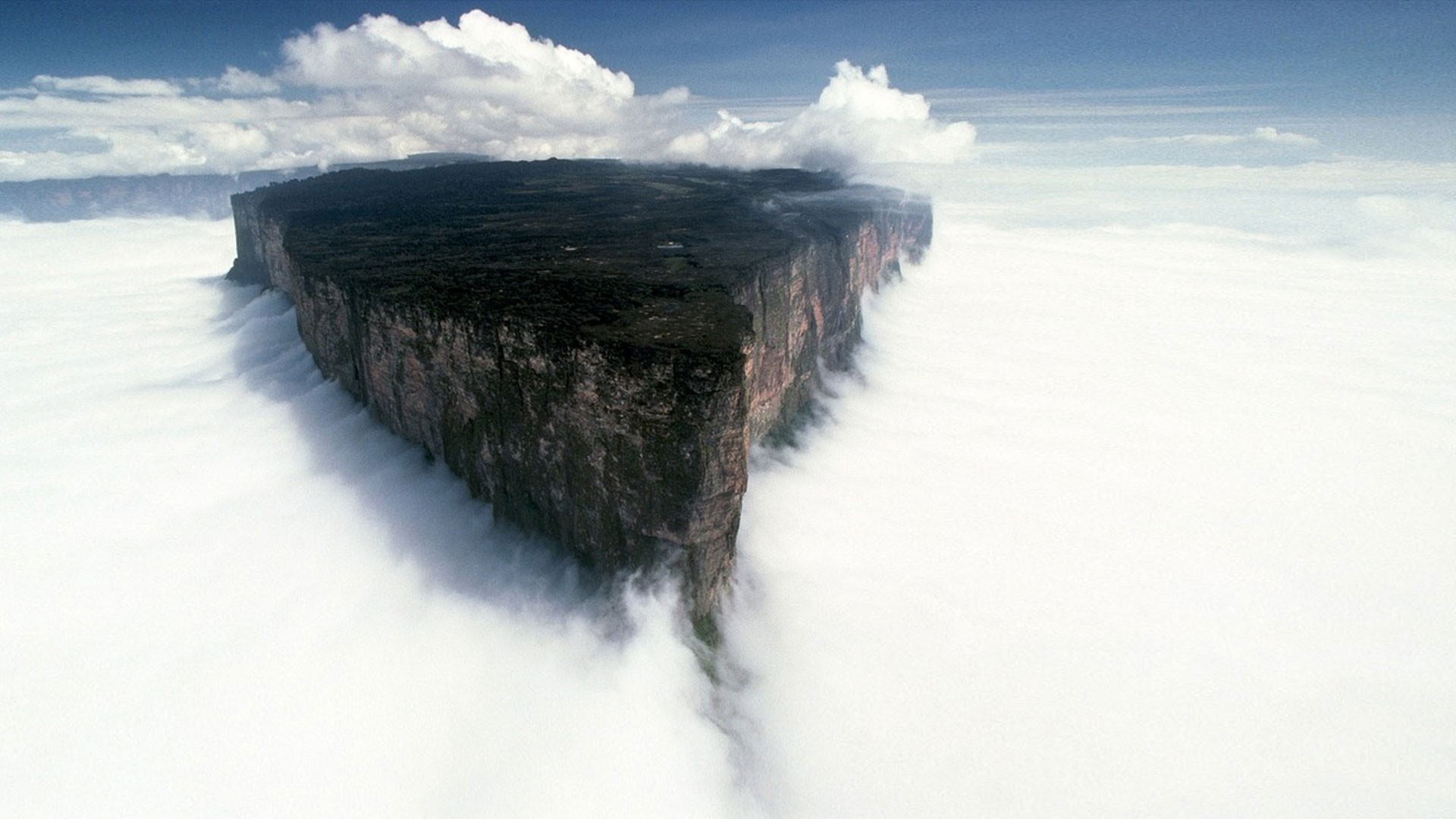 landscape, Mount Roraima, Mist, Venezuela Wallpapers HD / Desktop