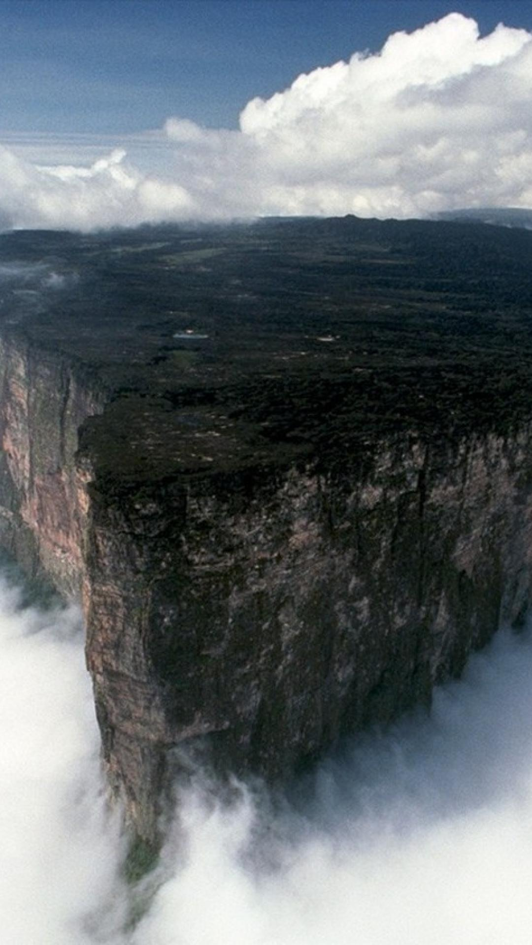 Forests rocks cliffs south america mount roraima wallpapers